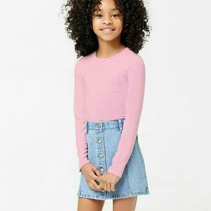 NWT Girls Pocket Bodysuit
